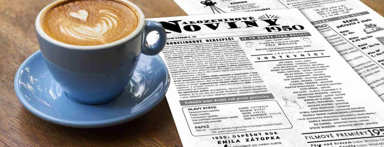 Narozeninové noviny 1950